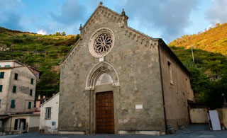 Church of Saint Lorenzo, Manarola, Cinque Terre, Italy