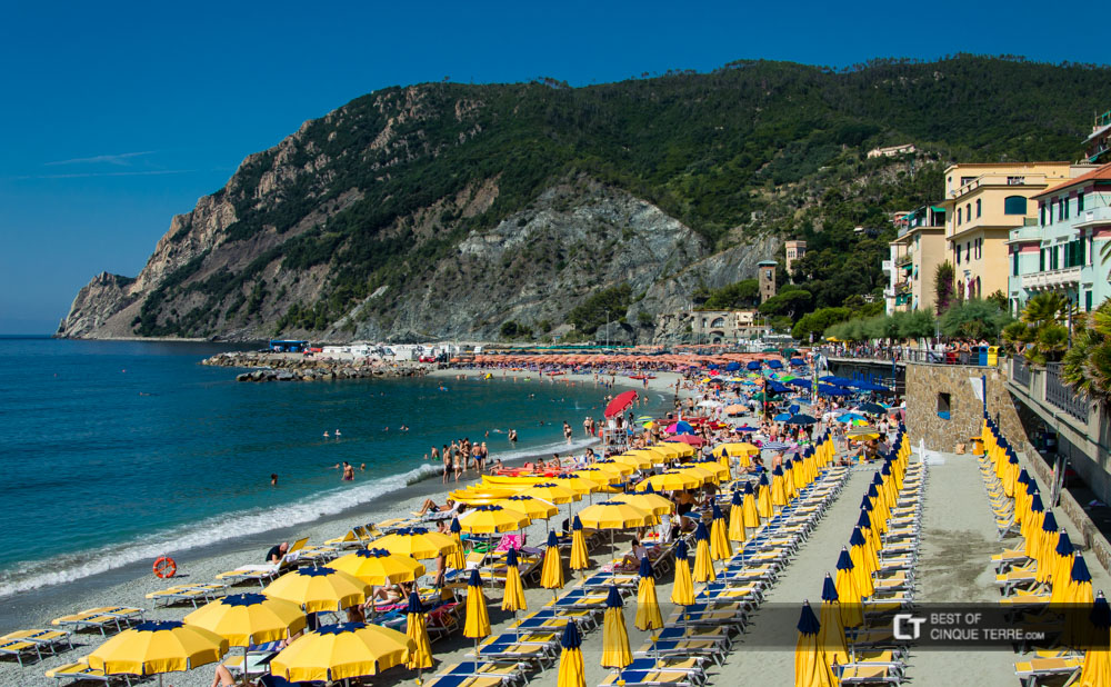 Monterosso al mare the largest beach in the cinque terre for Hotels in cinque terre