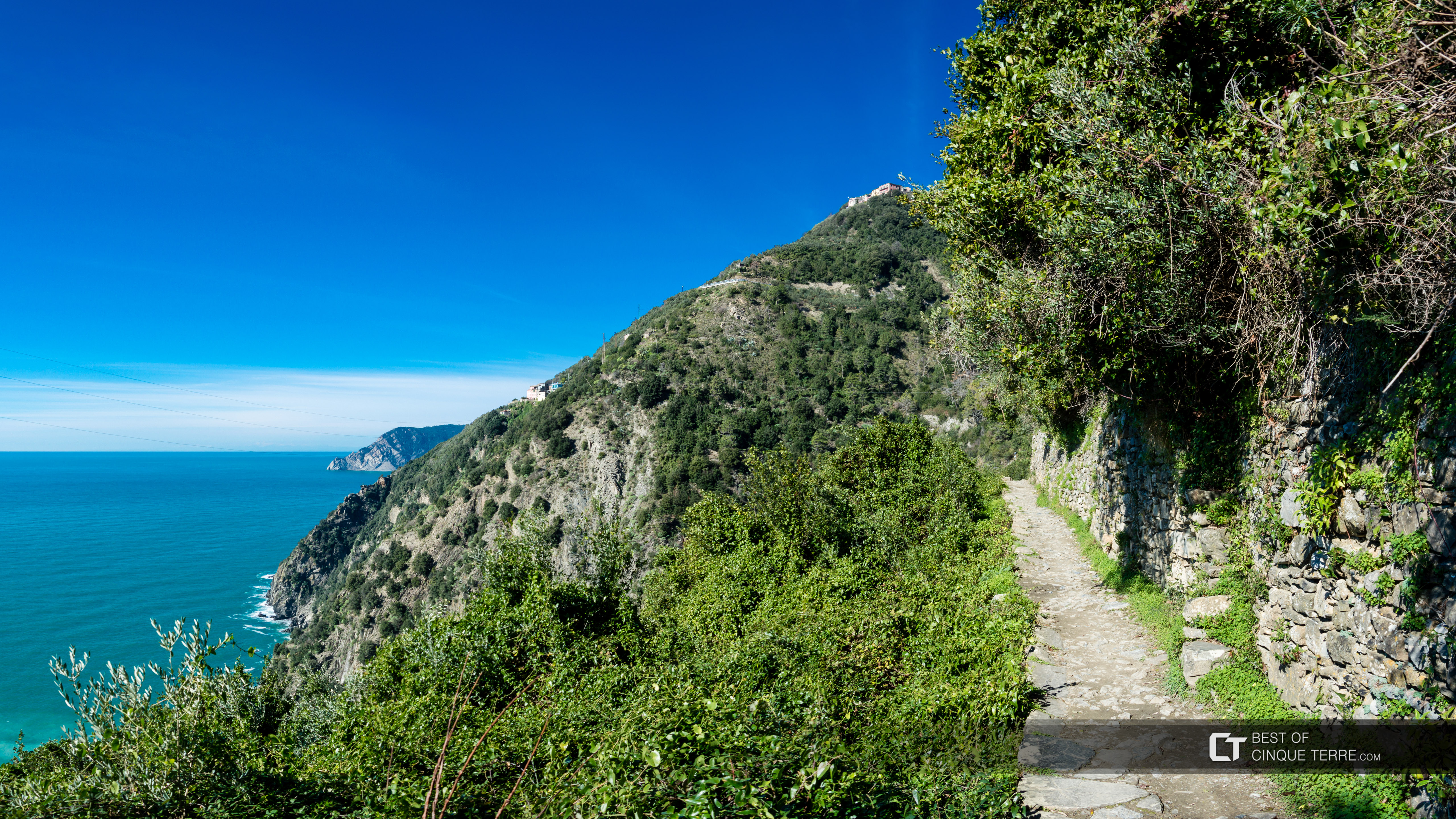 Blue Trail from Corniglia to Vernazza, Trails, Cinque Terre, Italy
