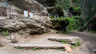 Cat refuge on the Blue Trail from Monterosso to Vernazza, Trails, Cinque Terre, Italy