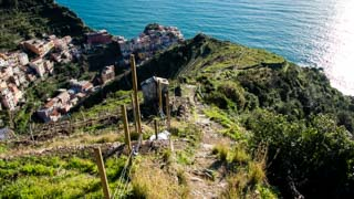 Descent from Volastra to Manarola (panoramic route), Trails, Cinque Terre, Italy