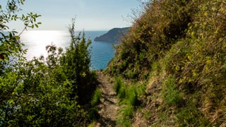 Descent from San Bernardino to Vernazza, Trails, Cinque Terre, Italy