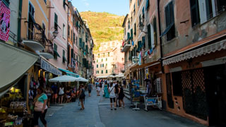 The main street, Vernazza, Cinque Terre, Italy