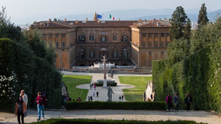 The Boboli Gardens and Pitti Palace, Florence, Italy