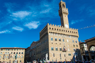 The Palazzo Vecchio, Florence, Italy