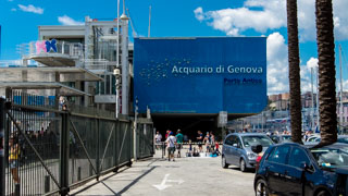 Aquarium of Genoa, Italy