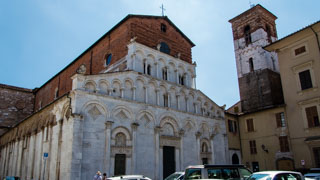 Church of Santa Maria Forisportam, Lucca, Italy