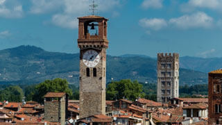 The Clock Tower, Lucca, Italy
