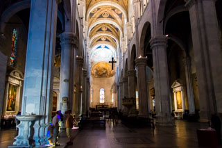 Inside the Cathedral, Lucca, Italy