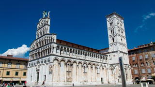 The church of San Michele in Foro, Lucca, Italy