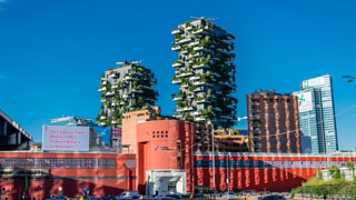 Residential towers Vertical Forest, Milan, Italy