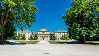 Ducal Palace in the Ducale Park, Parma, Italy