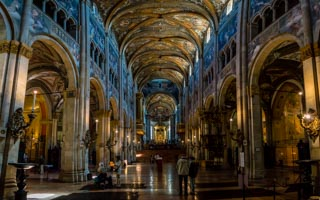 Inside the Cathedral, Parma, Italy