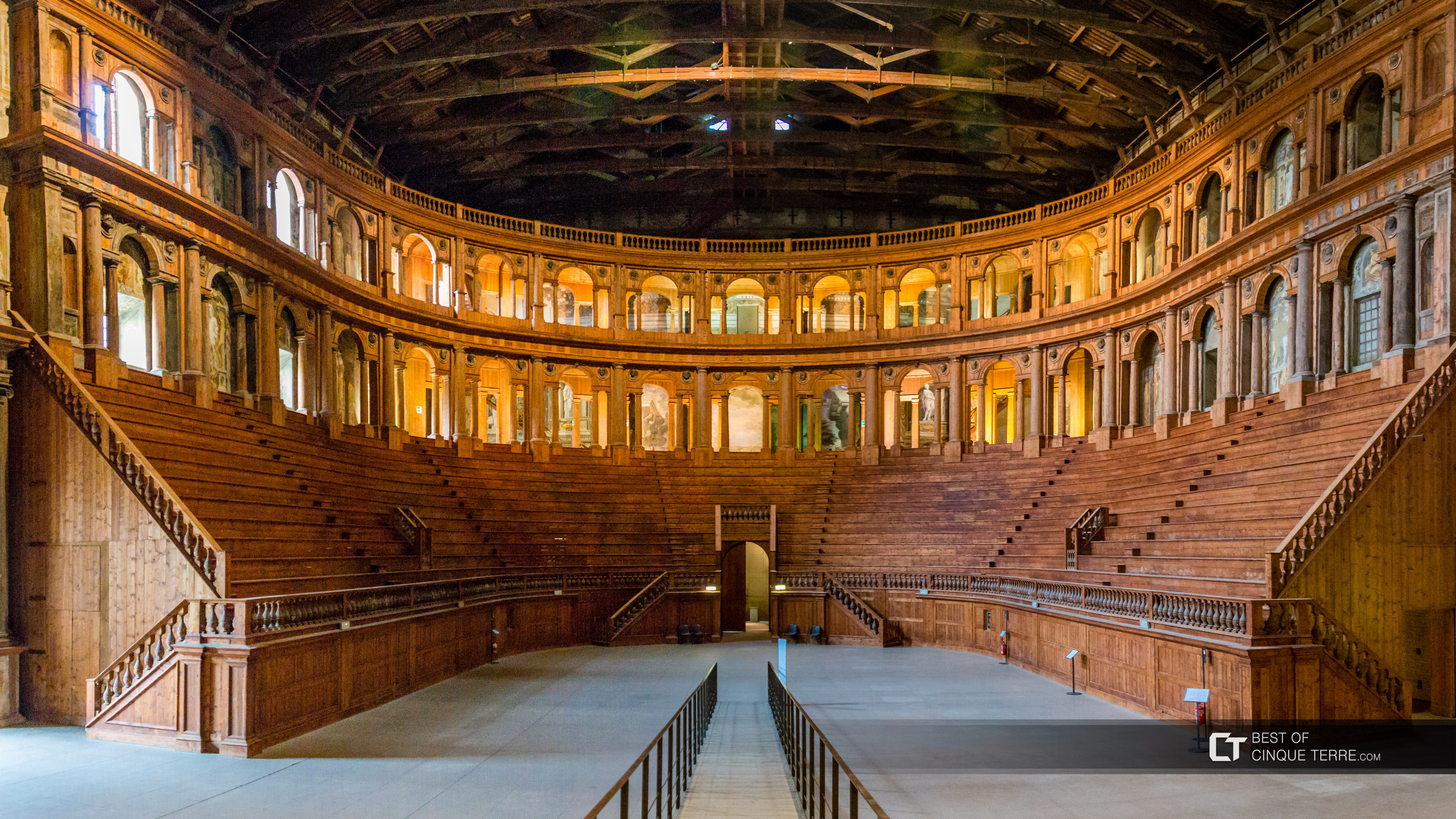 Farnese Theater in the National Art Gallery, Parma, Italy