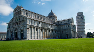 Cathedral and Leaning Tower, Pisa, Italy