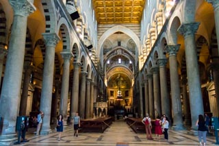 Inside the Cathedral, Pisa, Italy