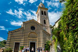 Church of St. Martin, Portofino, Italy
