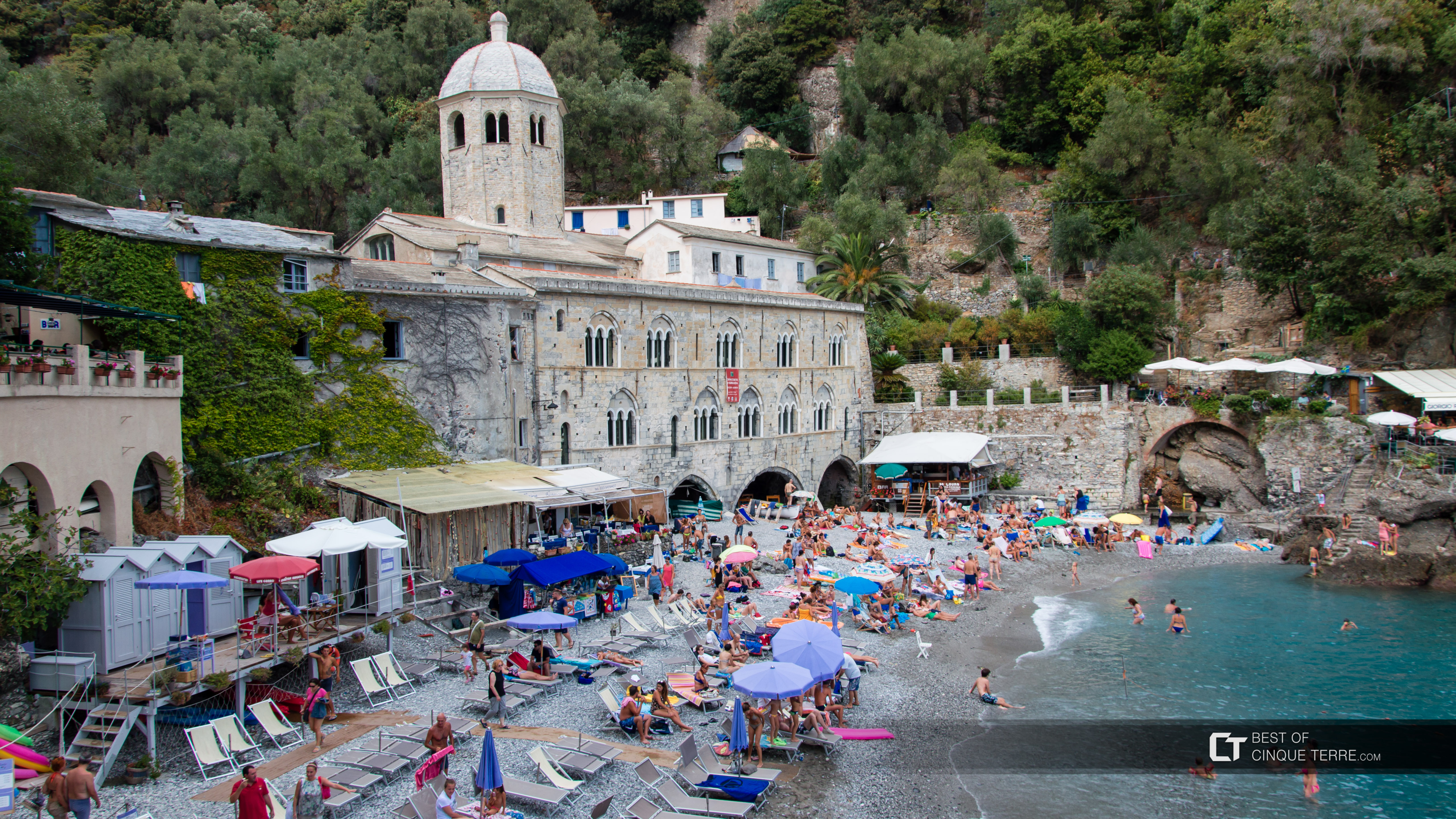 Portofino San Fruttuoso Abbey