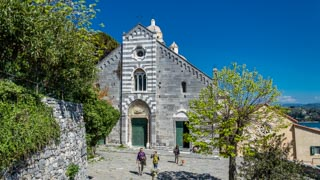 Church of Saint Peter, Portovenere, Italy