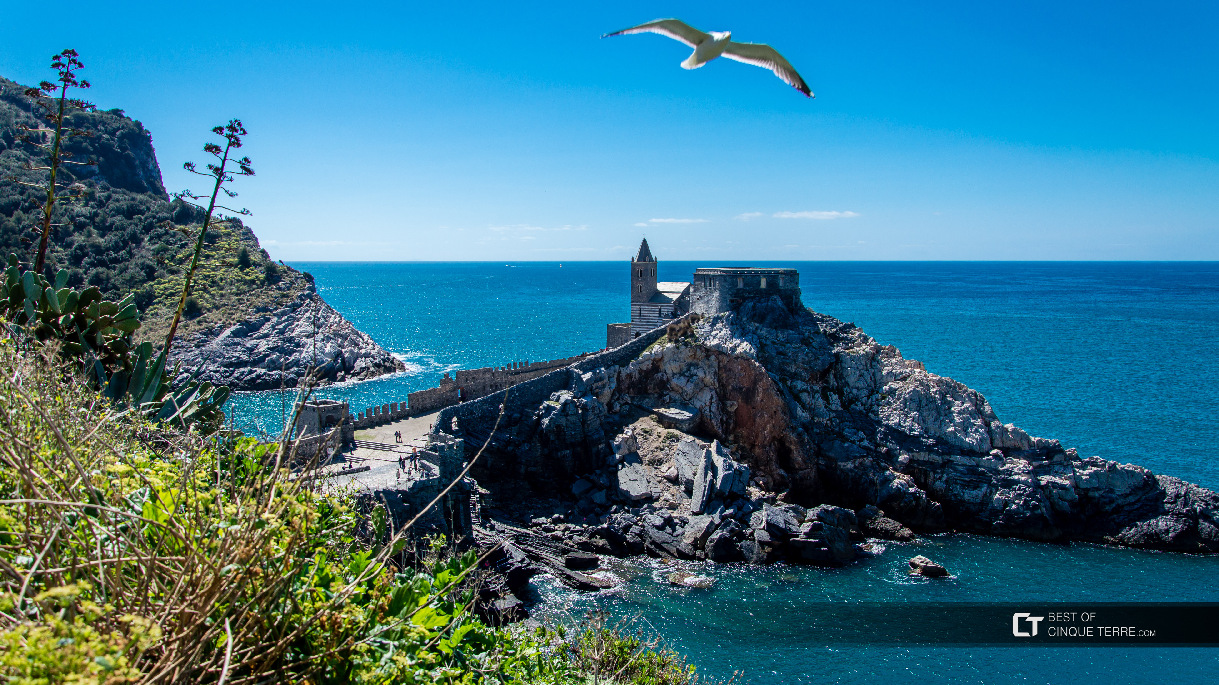 Church of San Lorenzo, Portovenere, Italy