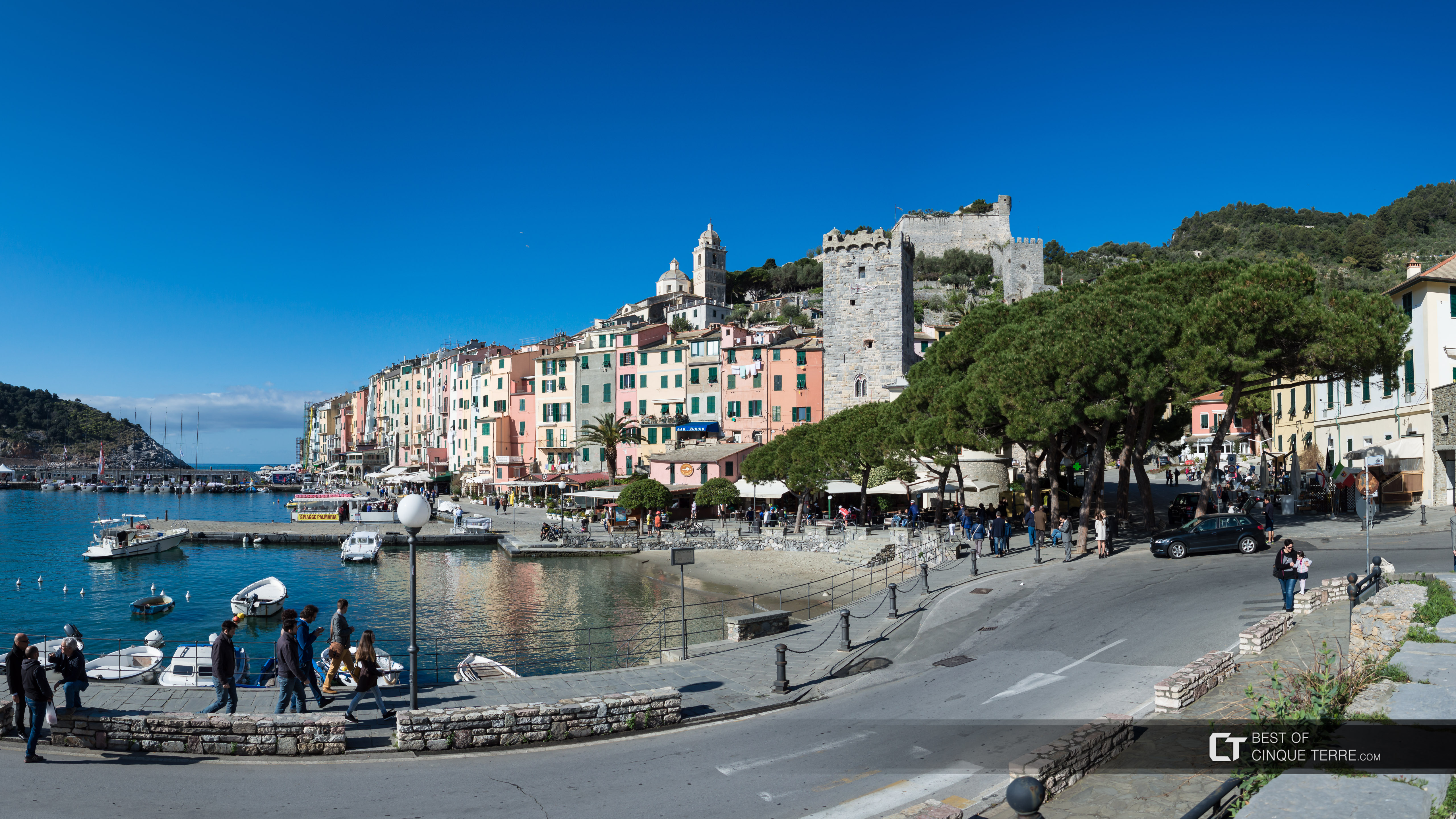 View from the bus stop, Portovenere, Italy