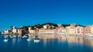 Bay of Silence, Sestri Levante, Italy